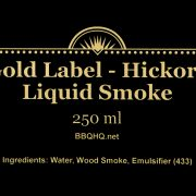 LABEL – 250ml no address